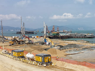 Hong Kong - Zhuhai - Macau Bridge Project Trevi spa