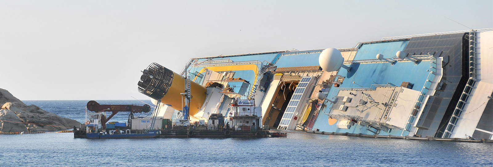 COSTA CONCORDIA WRECK PARBUCKLING AND REMOVAL Trevi spa