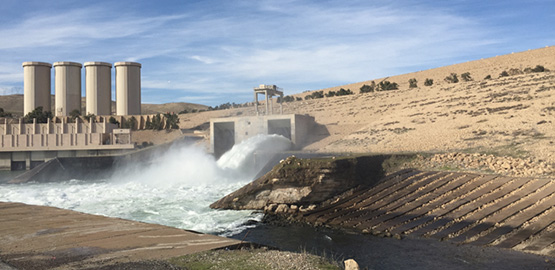 Trevi signs the contract for the maintenance works of Mosul Dam Trevi spa