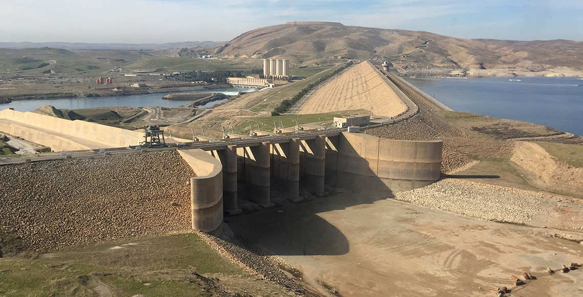 Trevi signs the contract for the maintenance works of Mosul Dam | Trevi 1