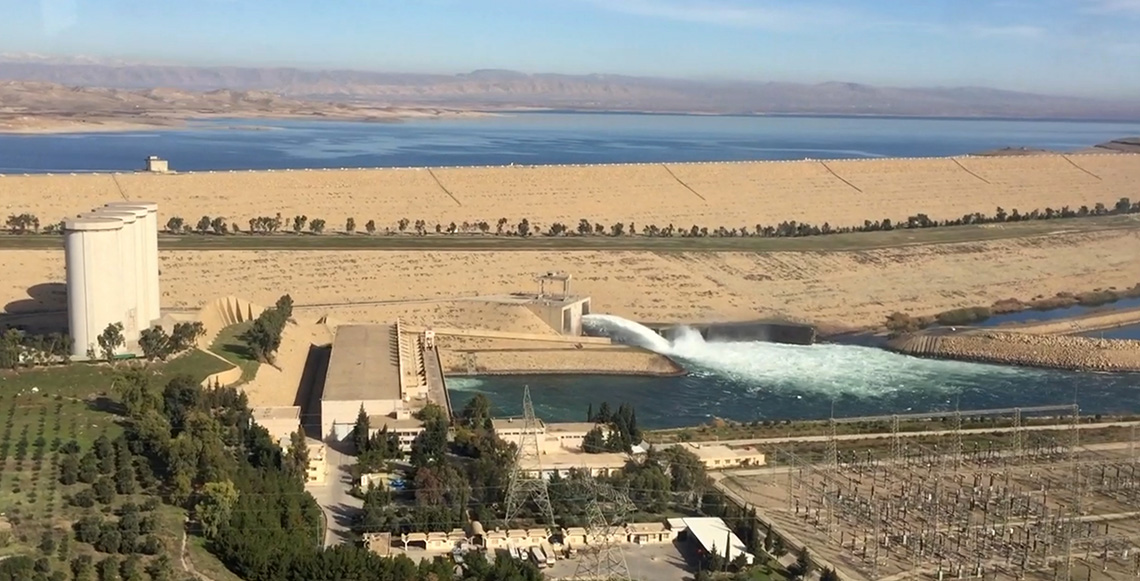 Trevi signs the contract for the maintenance works of Mosul Dam | Trevi 3