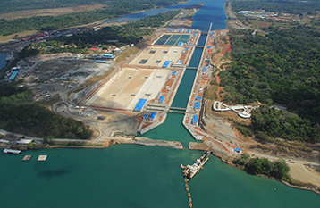 Panama Canal Expansion project Trevi spa