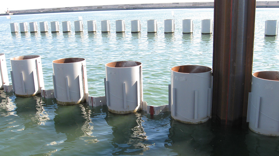 Sheet pile and Combi Walls | Technologies | Trevi 2