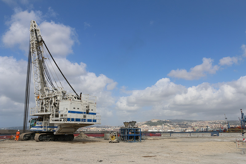 Port of Naples - Container Terminal | Trevi 2