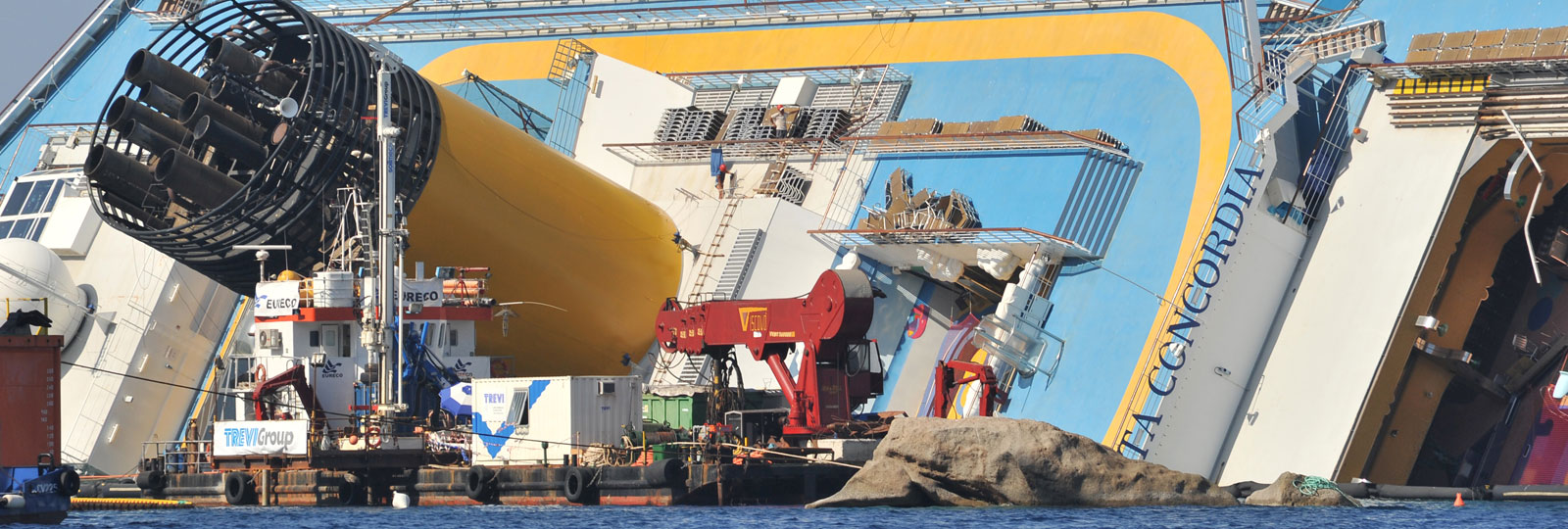 Costa Concordia Wreck Removal Project