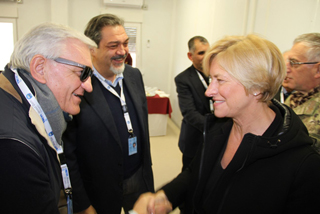 Visit by Minister Pinotti Trevi spa