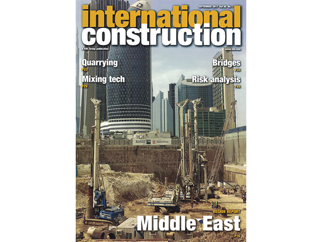 ICD Tower Project on International Construction (September 2017)