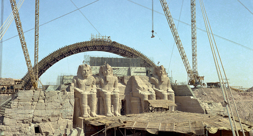 ABU SIMBEL - Securing the Nubian Temples | Trevi 1