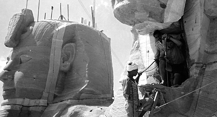 ABU SIMBEL - Securing the Nubian Temples | Trevi 2