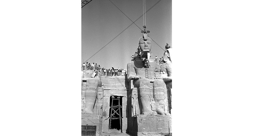ABU SIMBEL - Securing the Nubian Temples | Trevi 5