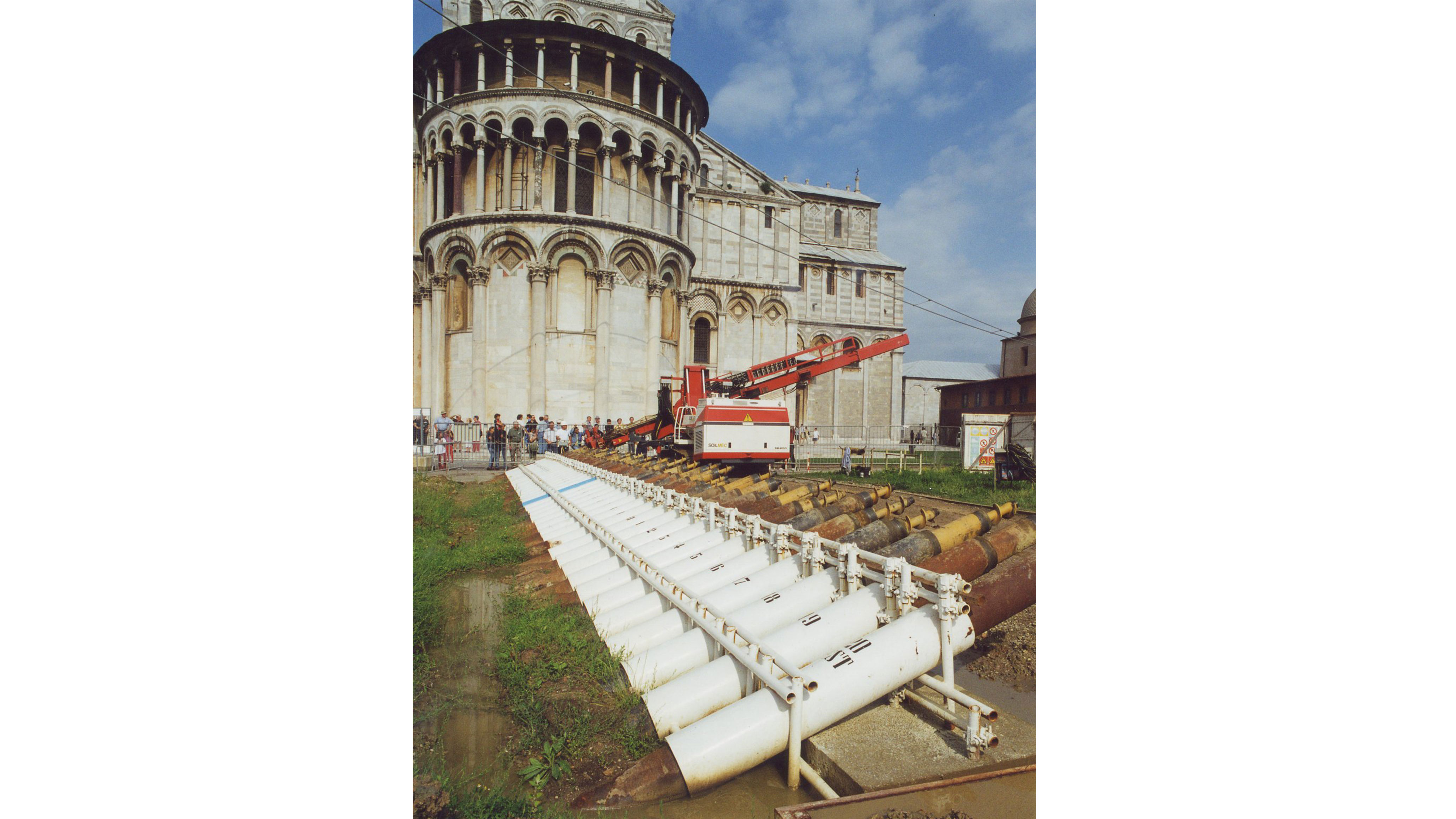 The restoration of the LEANING TOWER OF PISA | Trevi 4