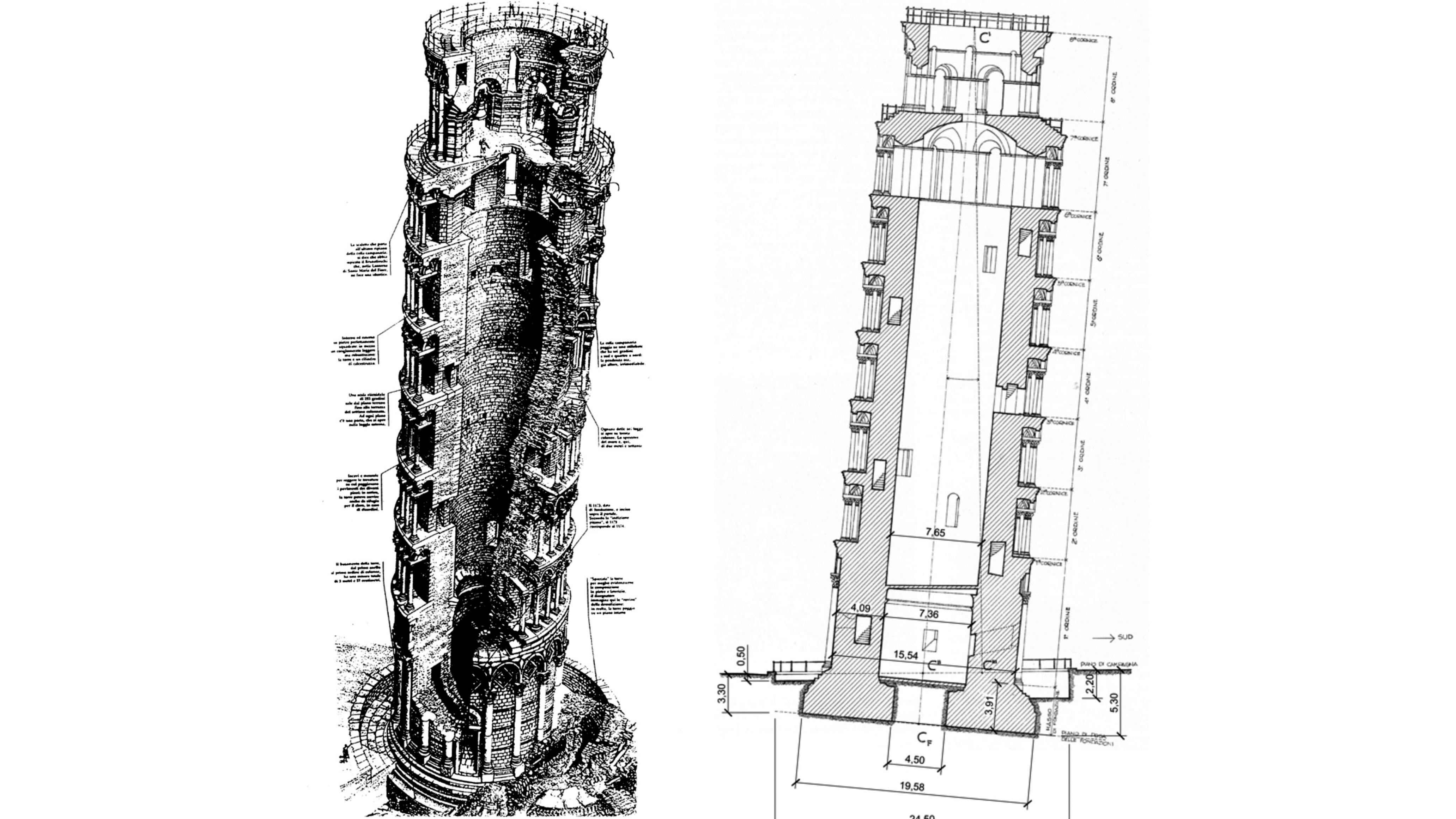 The restoration of the LEANING TOWER OF PISA | Trevi 3
