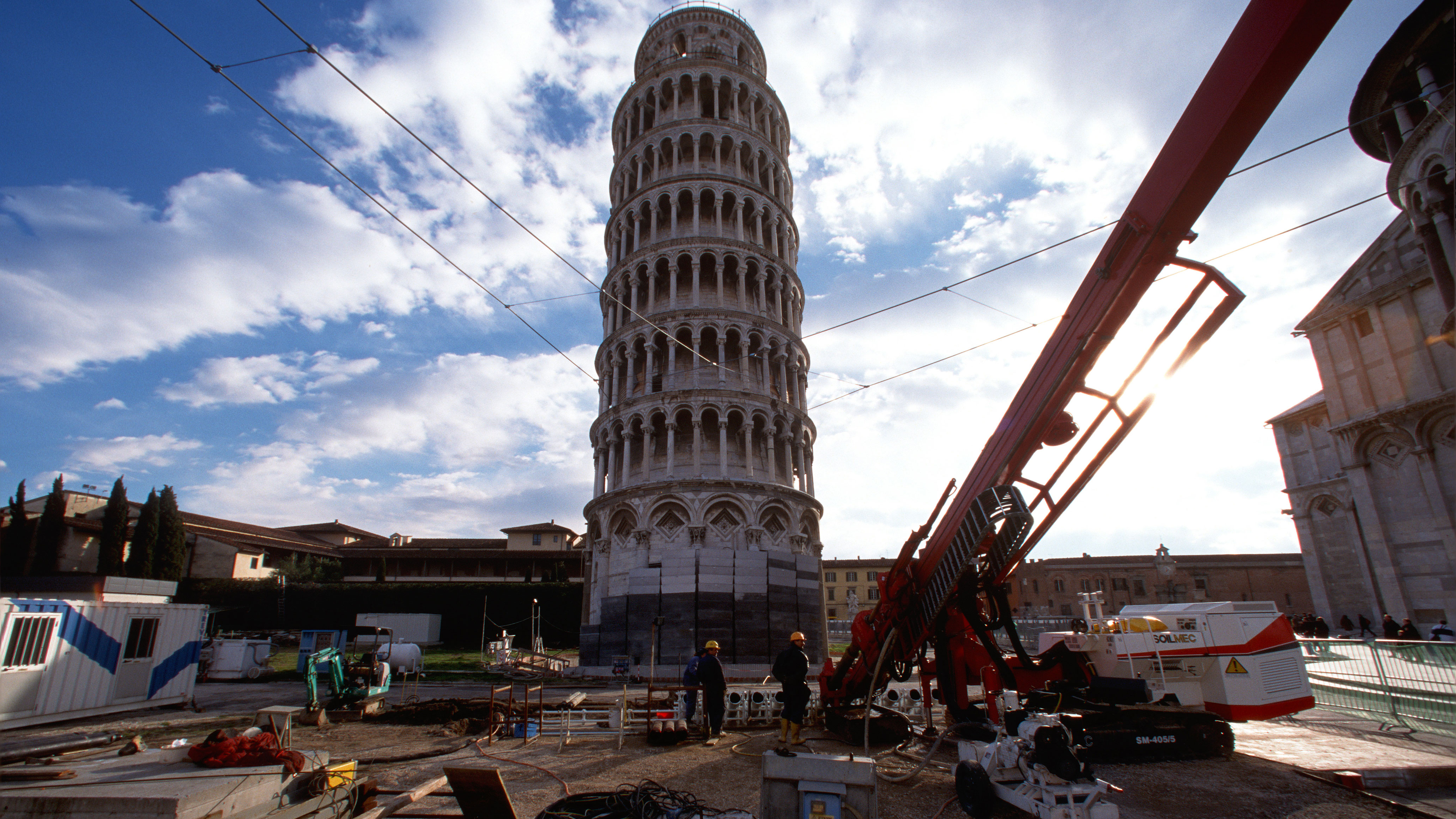 The restoration of the LEANING TOWER OF PISA | Trevi 1