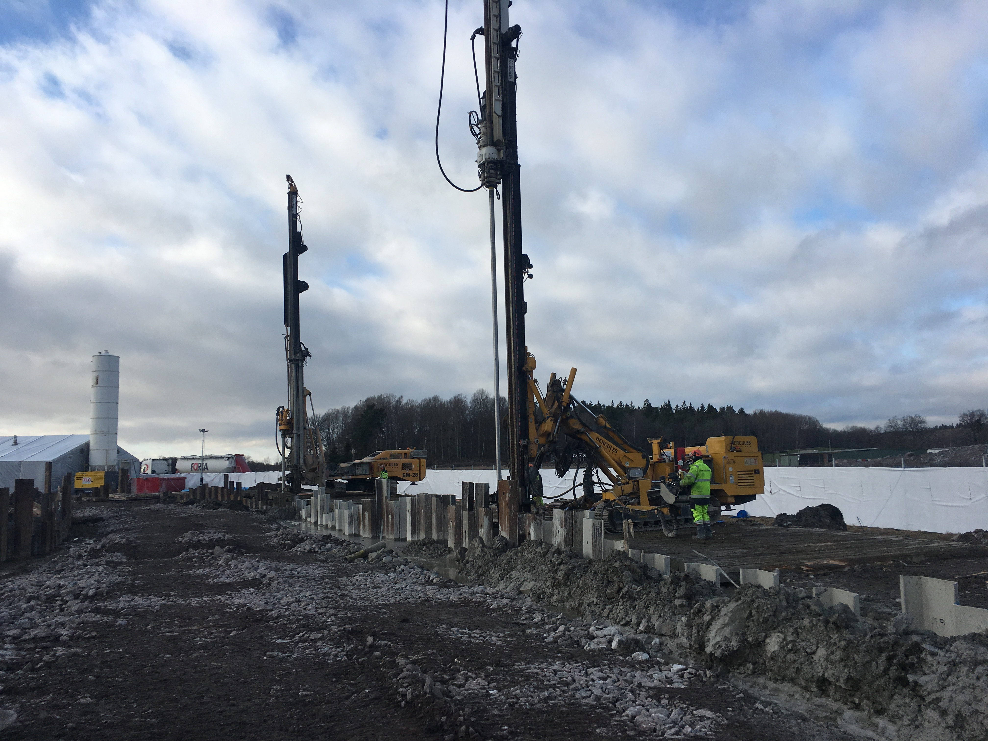 HERCULES TREVI FOUNDATIONS AB HAS COMPLETED THE WORKS IN THE ARBETSTUNNLAR LANDNINGSBANAN PROJECT (STOCKHOLM) | Trevi Spa 3
