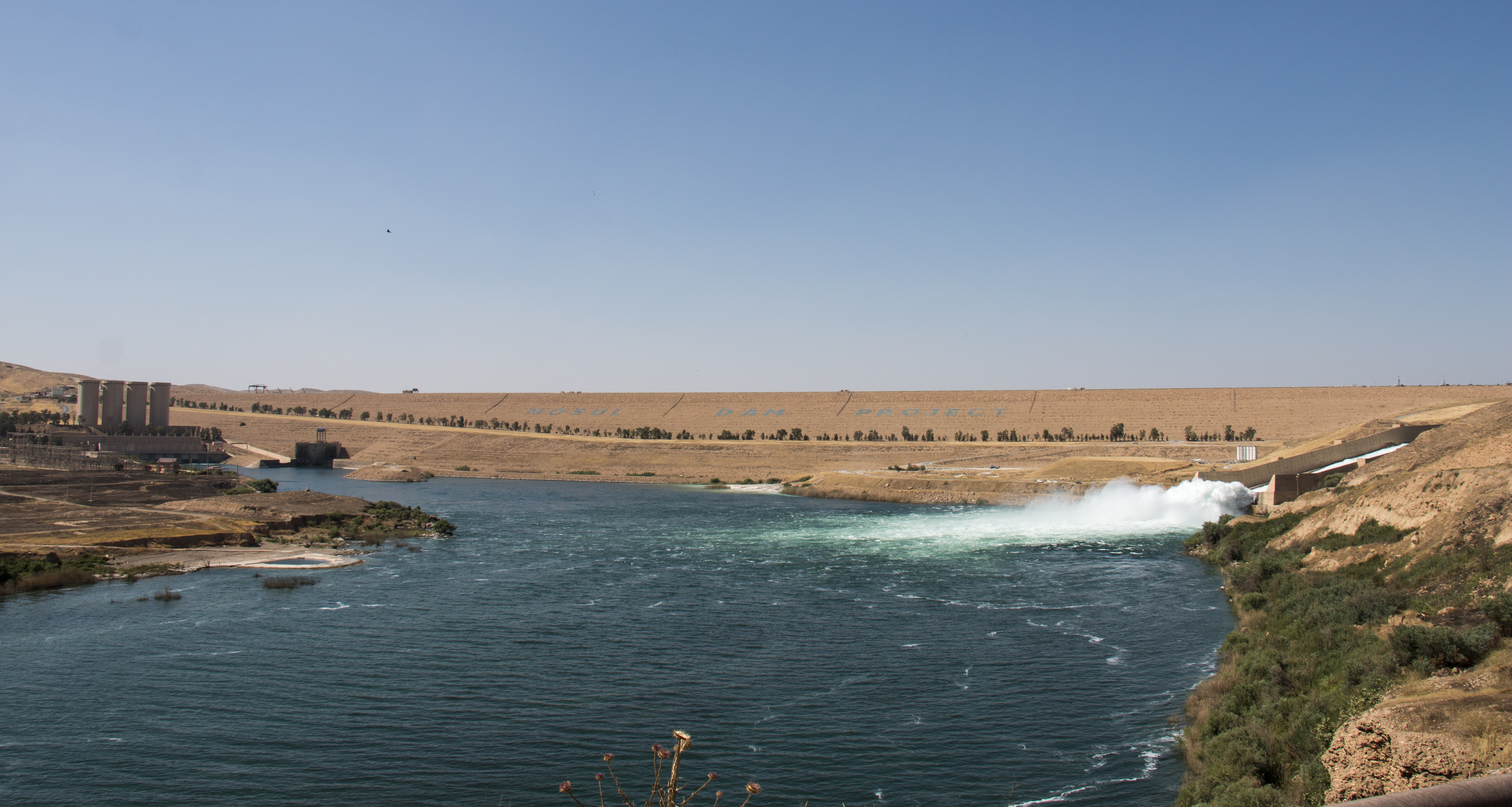 The Mosul Dam. 3 of 6 Trevi spa