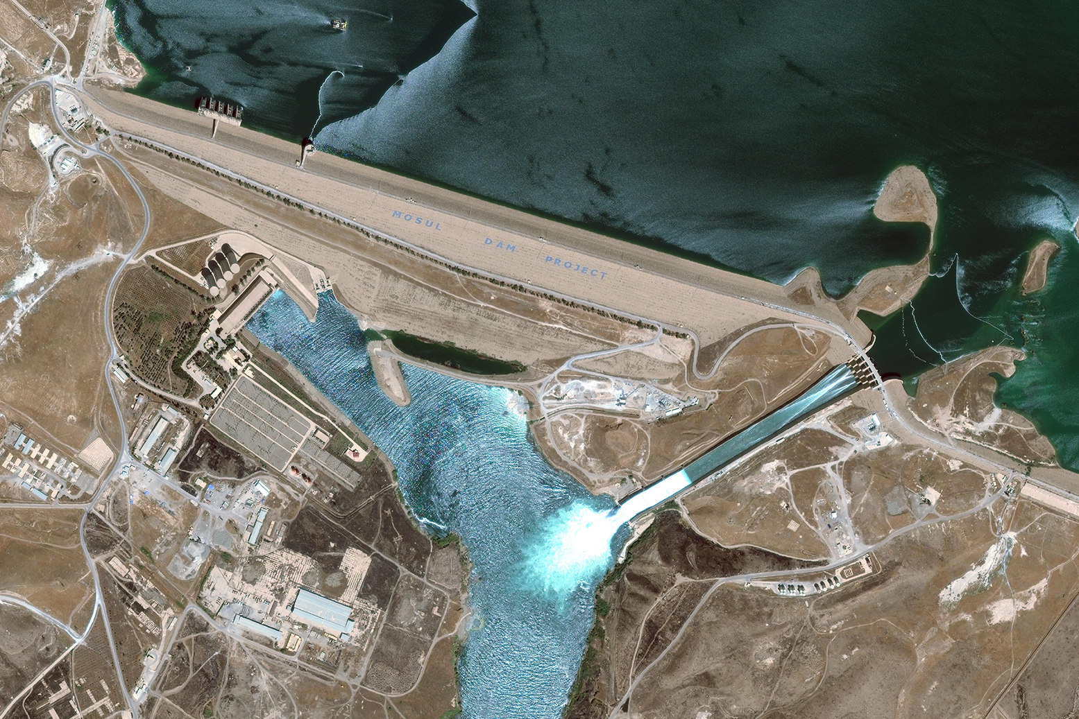 The Mosul Dam. 2 of 6 Trevi spa