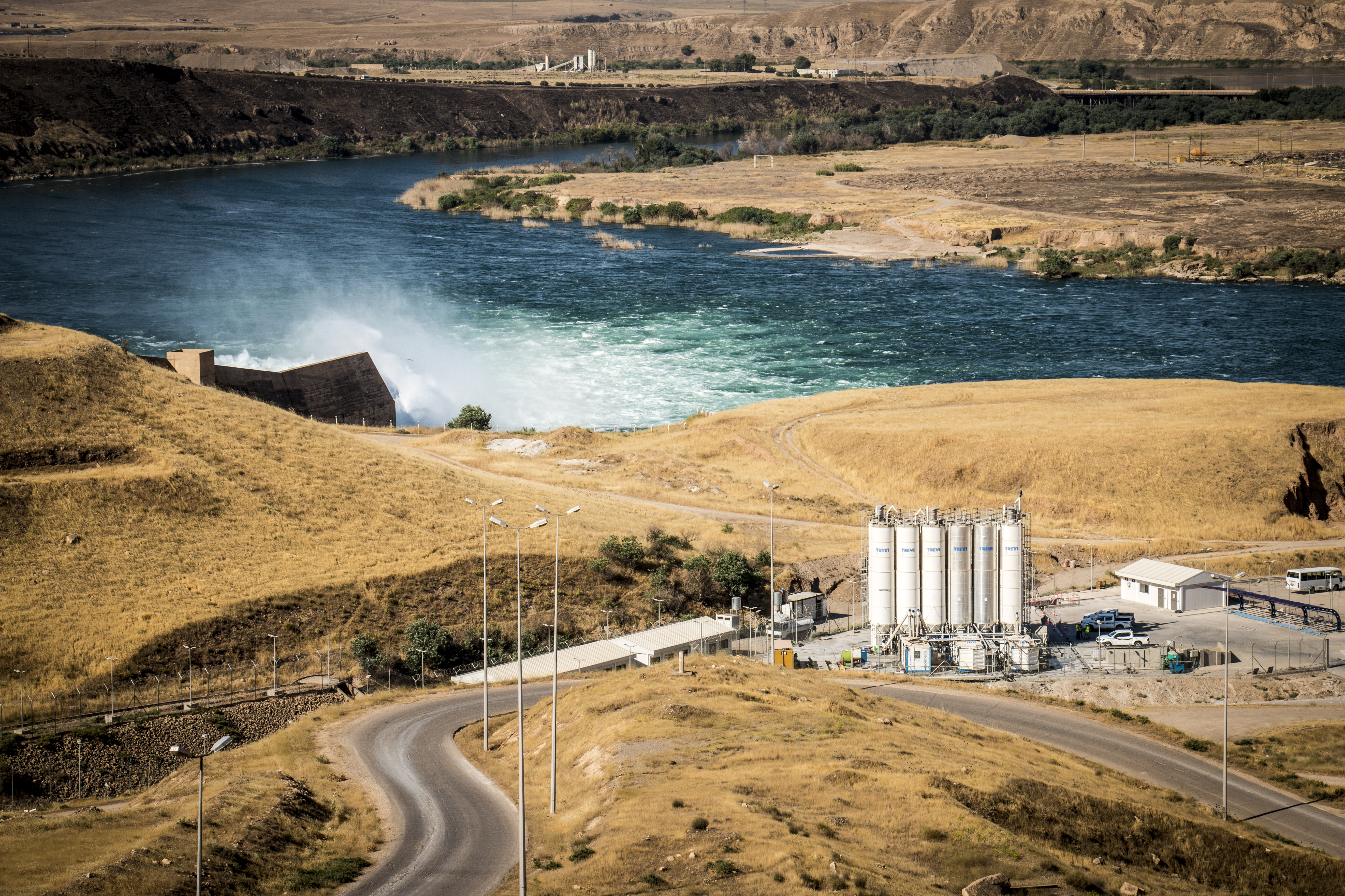 The Mosul Dam: The project and the role of Trevi | Trevi 2