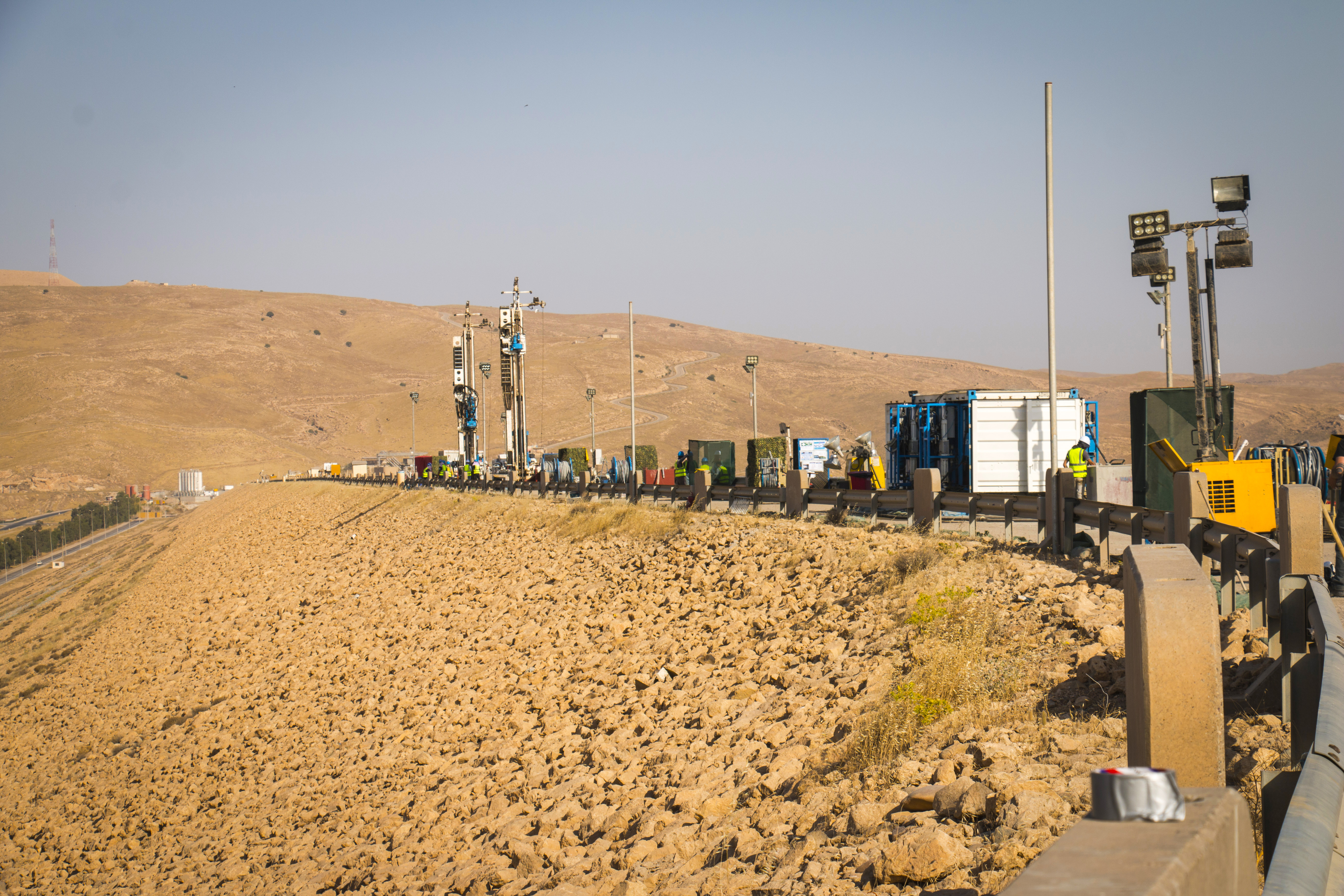 The Mosul Dam: Trevi/Soilmec machinery and technologies supply | Trevi Spa 6