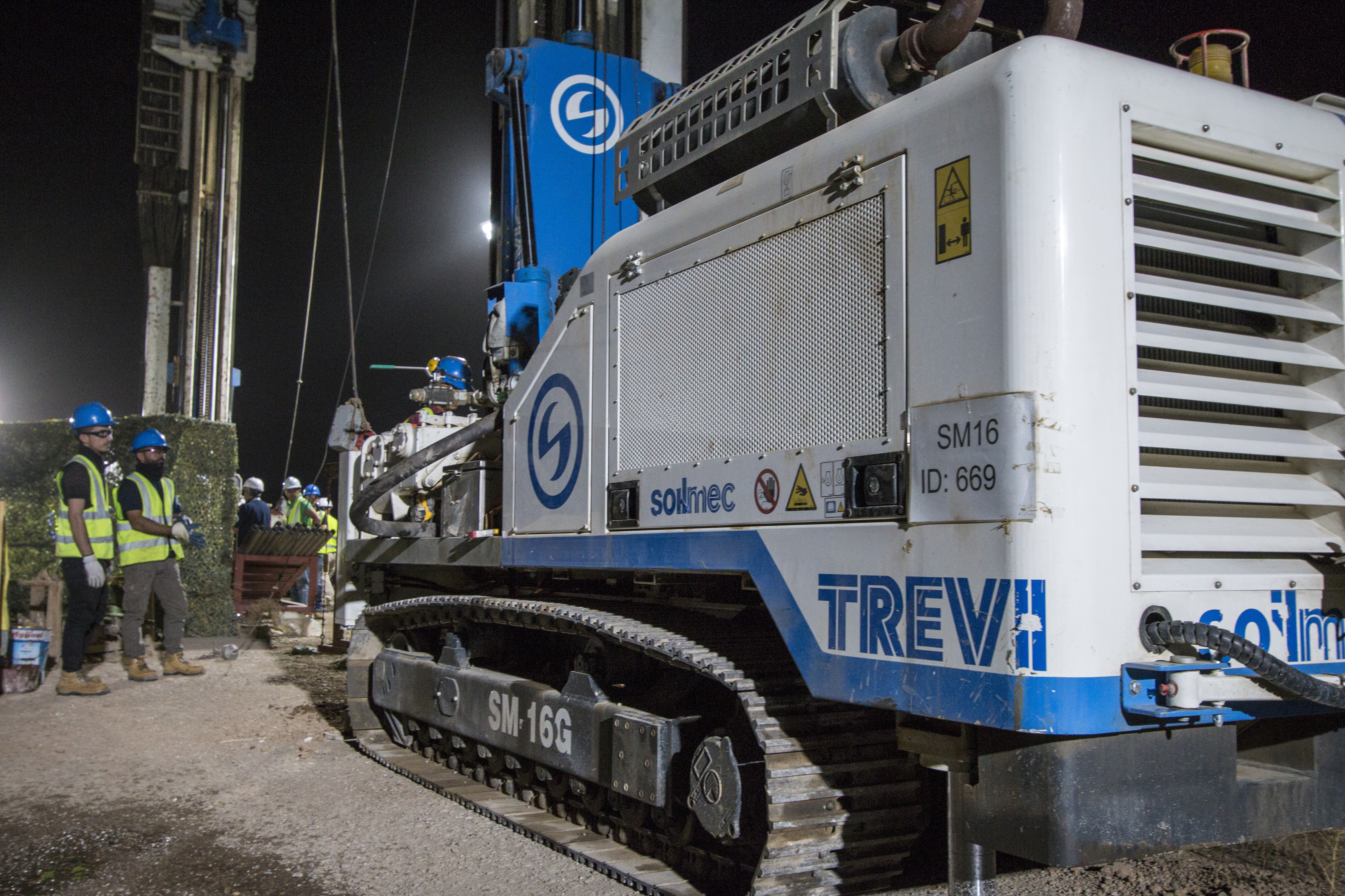The Mosul Dam: Trevi/Soilmec machinery and technologies supply | Trevi Spa 1