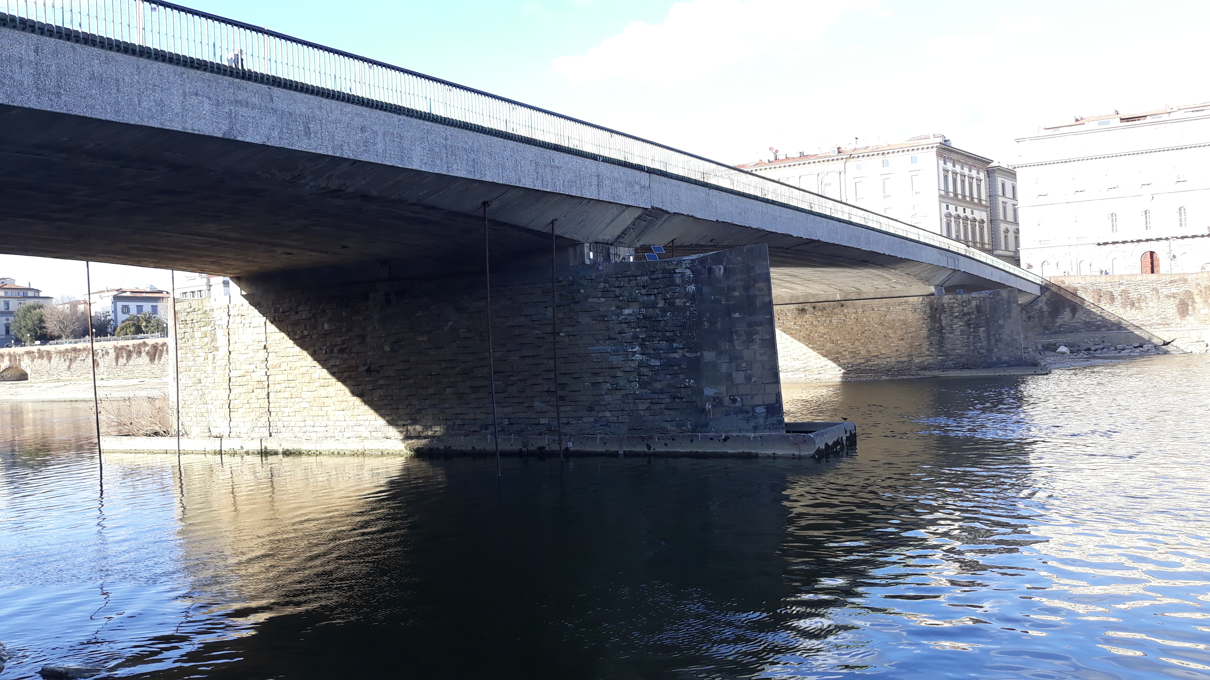 Trevi know-how and technology for the safety of the Vespucci Bridge in Florence | Trevi Spa 6