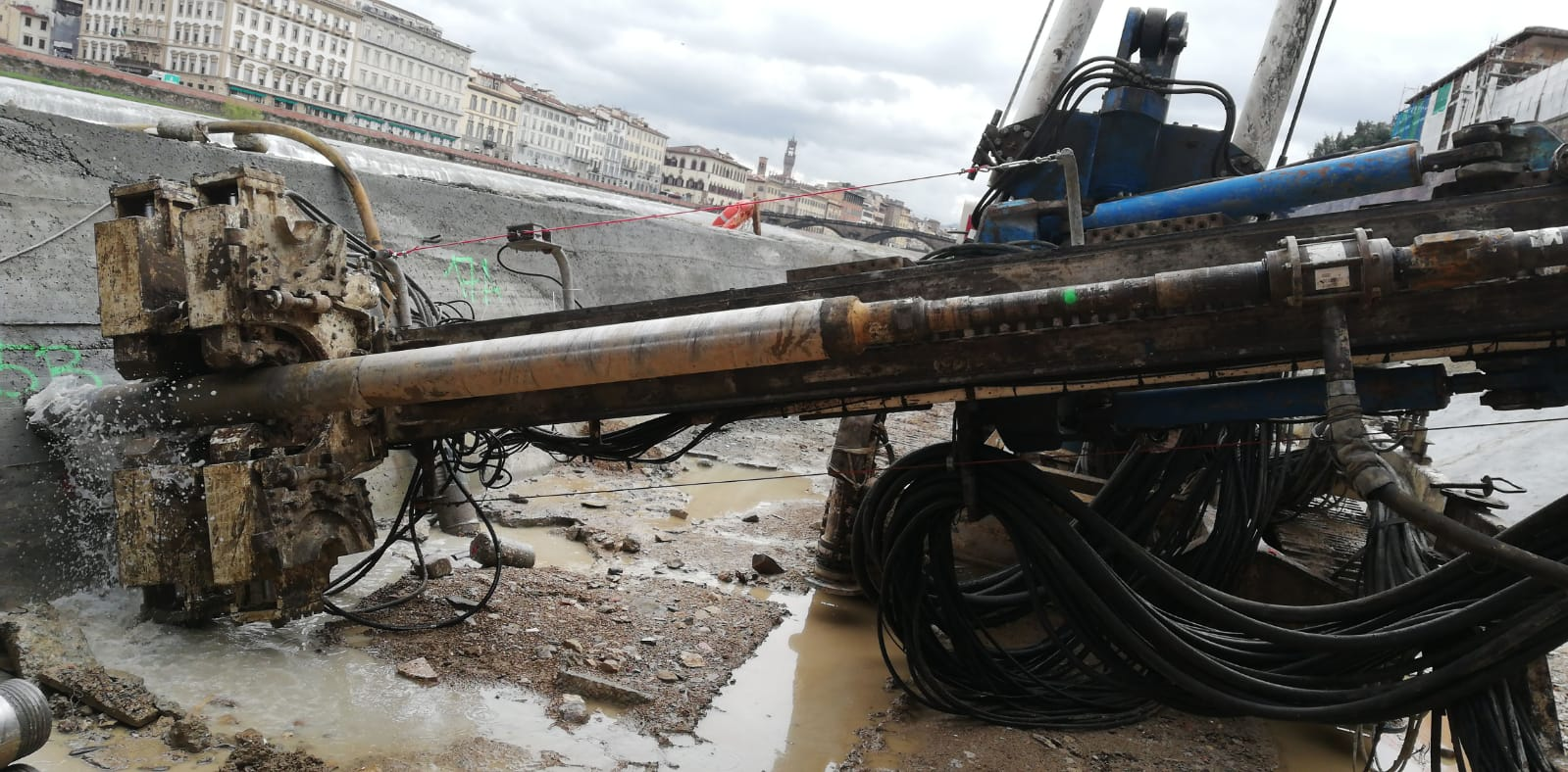 Trevi know-how and technology for the safety of the Vespucci Bridge in Florence | Trevi Spa 7
