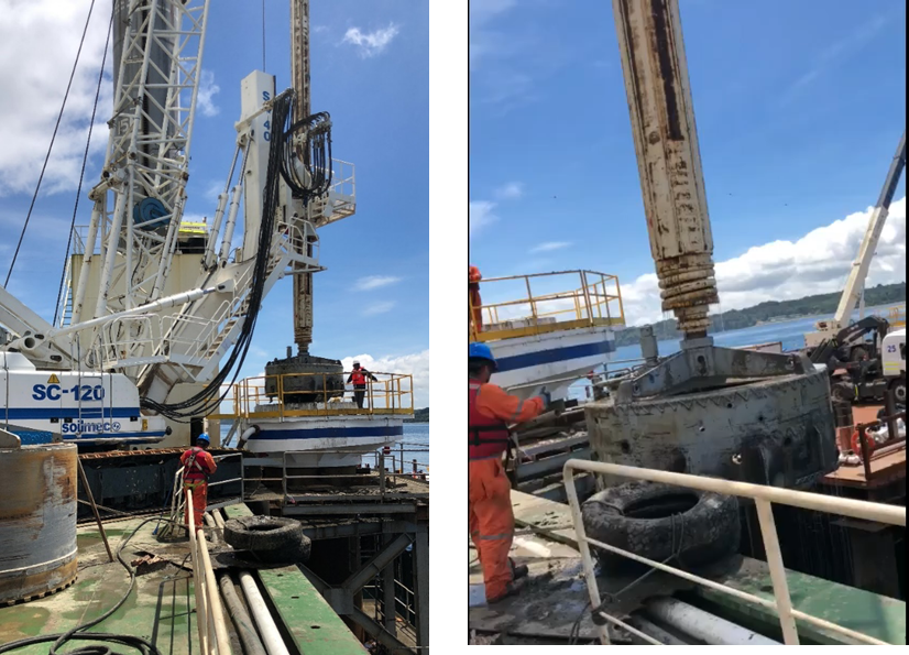 Chacao Bridge: how Trevi Chile adapted the construction process of the piles according to the extreme conditions Trevi spa
